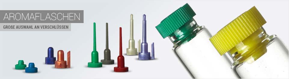 Aromaflaschen - Große Auswahl an Verschlüssen