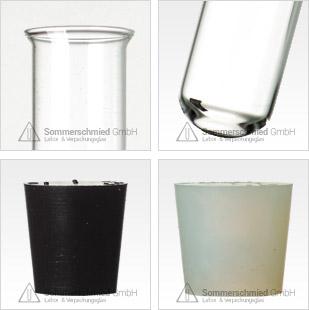 Reagenzglas mit Bördelrand, Bördelrand, Reagenzgläser mit Bördelrand, Probierglas, Eprovetten